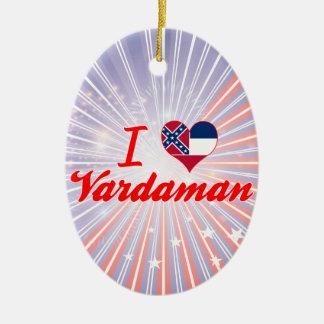 Amo Vardaman, Mississippi Adorno Ovalado De Cerámica