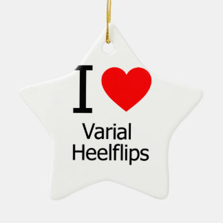 Amo Varial Heelflips Ornamento Para Arbol De Navidad