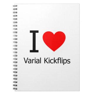 Amo Varial Kickflips Libro De Apuntes