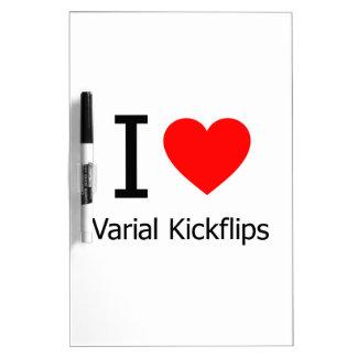 Amo Varial Kickflips Pizarras Blancas De Calidad