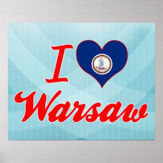 Amo Varsovia, Virginia Poster