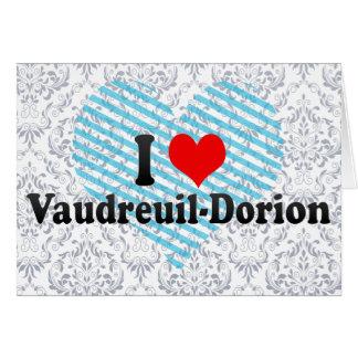 Amo Vaudreuil-Dorion Canadá Tarjeton