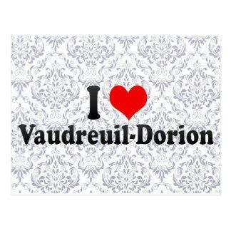 Amo Vaudreuil-Dorion Canadá Tarjeta Postal