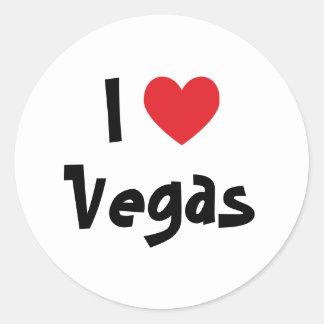 Amo Vegas Pegatinas