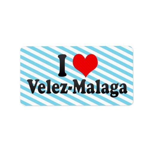 Amo Velez-Málaga, España Etiquetas De Dirección