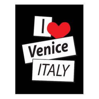 Amo Venecia Italia Postal