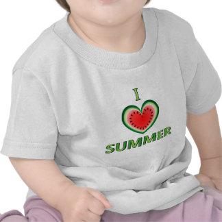 Amo verano camisetas
