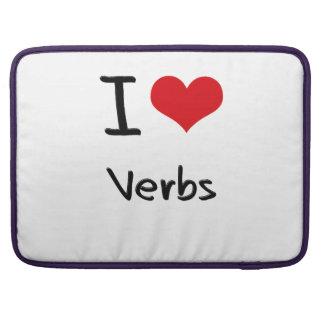 Amo verbos funda para macbook pro