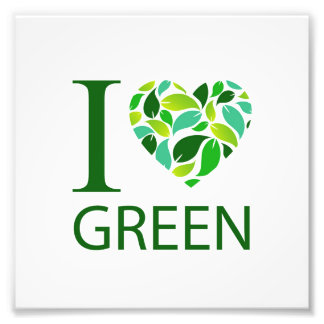 Amo verde fotografía