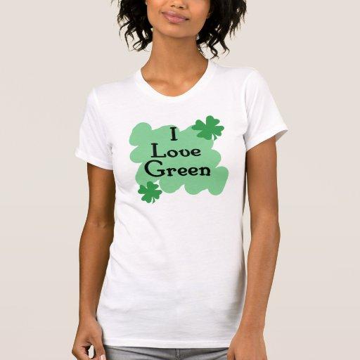 Amo verde tshirts