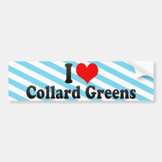 Amo verdes de la col com n pegatina para auto