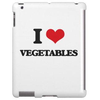 Amo verduras funda para iPad
