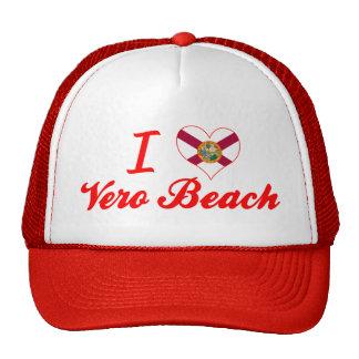 Amo Vero Beach la Florida Gorras De Camionero