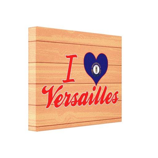 Amo Versalles, Kentucky Impresion En Lona