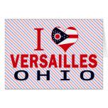 Amo Versalles, Ohio Tarjeta