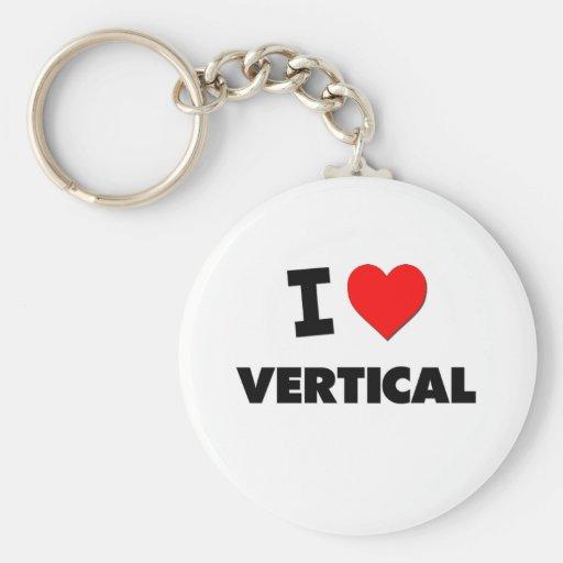 Amo vertical llaveros personalizados
