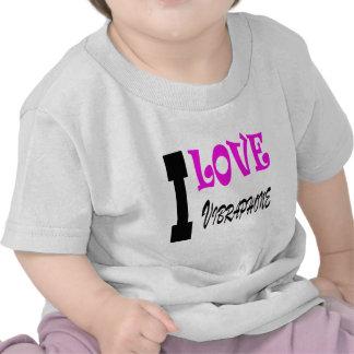 Amo Vibraphone Camiseta