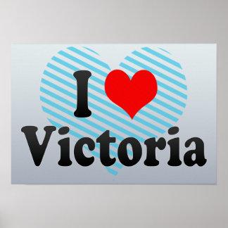 Amo Victoria Canadá Poster
