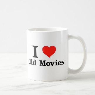 Amo viejas películas taza