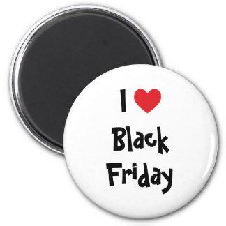 Amo viernes negro iman para frigorífico