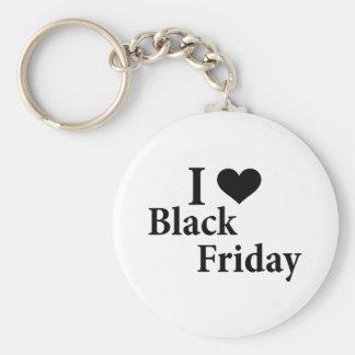 Amo viernes negro llaveros personalizados