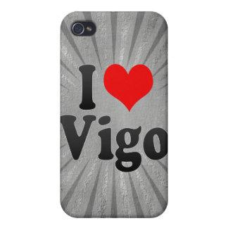 Amo Vigo, España. Yo Encanta Vigo, España iPhone 4/4S Funda