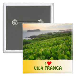 Amo Vila Franca Pin Cuadrado