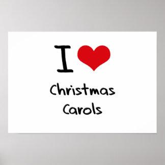 Amo villancicos del navidad posters