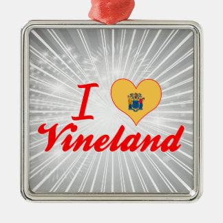 Amo Vineland, New Jersey Ornamento Para Arbol De Navidad