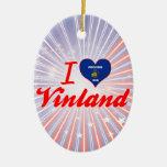 Amo Vinland, Wisconsin Ornamentos Para Reyes Magos