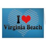 Amo Virginia Beach Tarjeta