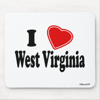 Amo Virginia Occidental Tapete De Raton