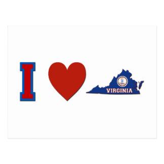 Amo Virginia Postales