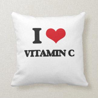 Amo vitamina C Almohadas
