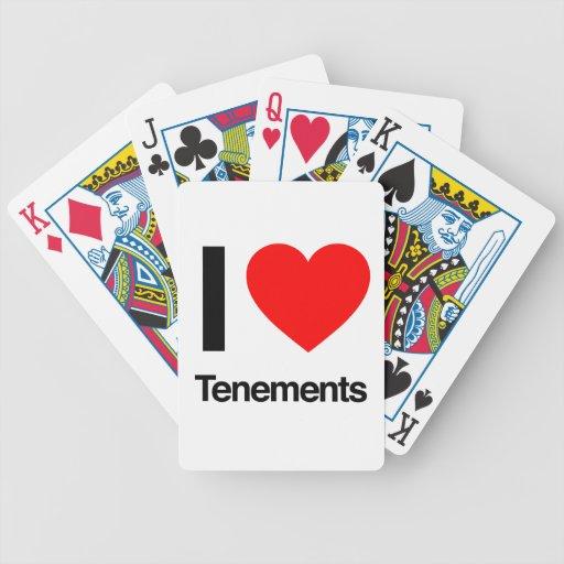 amo viviendas baraja cartas de poker