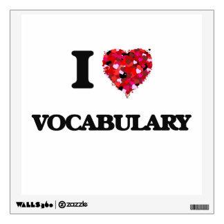 Amo vocabulario
