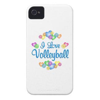 Amo voleibol Case-Mate iPhone 4 carcasas