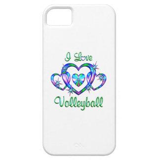 Amo voleibol iPhone 5 fundas