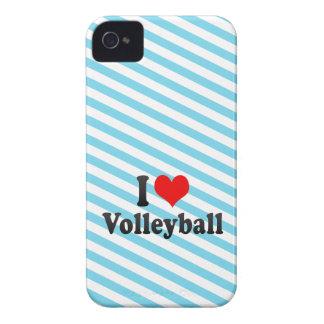 Amo voleibol Case-Mate iPhone 4 funda