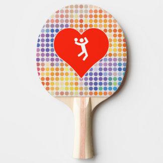 Amo voleibol pala de ping pong