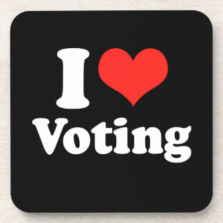 AMO VOTING png Posavasos De Bebida