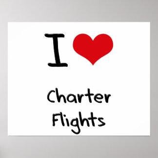 Amo vuelos chárteres poster