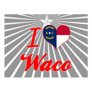 Amo Waco, Carolina del Norte Postal
