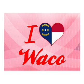 Amo Waco, Carolina del Norte Postales