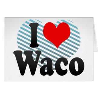 Amo Waco, Estados Unidos Felicitaciones