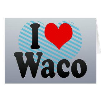Amo Waco, Estados Unidos Tarjeton