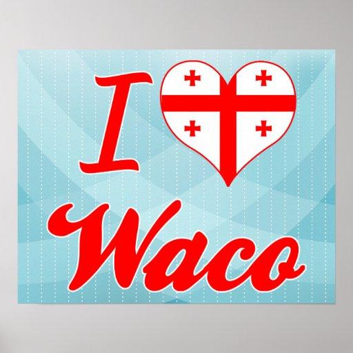 Amo Waco, Georgia Impresiones
