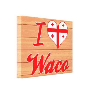 Amo Waco, Georgia Impresiones En Lona