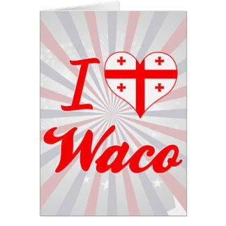 Amo Waco, Georgia Tarjeta