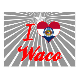 Amo Waco, Missouri Postales